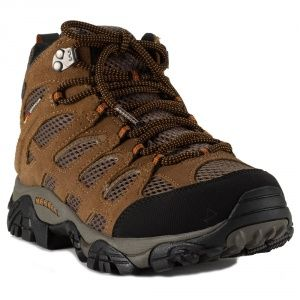 Ботинки Merrell MOAB mid waterproof Earth