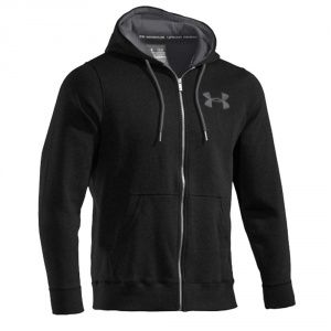 Толстовка Under Armour Charged Storm Fleece Hoody Black