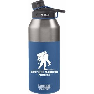 Термос Camelbak 7.62 Wounded Warrior Chute Vacuum SS BLUE