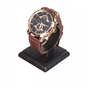 Часы Guanqin Gold-Black-Brown GS19088 CL
