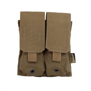 Подсумок Flyye Molle Double M4/M16 Mag Pouch Coyote brown