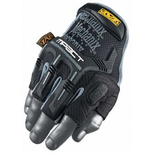 Перчатки Mechanix Wear M-Pact Fingerless BLACK
