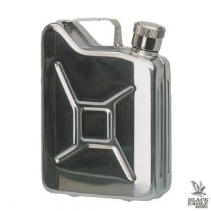 Фляга MIL-TEC Stainless Steel Jerry Can Flask 170 ml