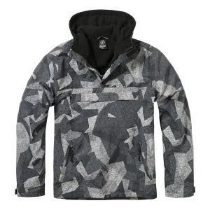 Куртка ветровка Brandit Windbreaker NIGHT CAMO DIGITAL