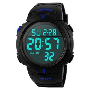 Часы Skmei 1068 BK-Blue BOX