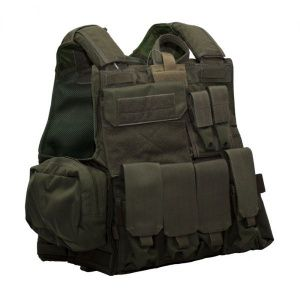 Бронежилет Flyye Force Recon Vest with Pouch Set Ver.MAR Ranger Green