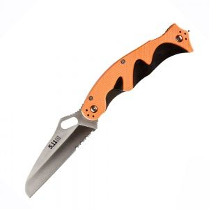 Нож 5.11 Tactical Double Duty Responder Knife Orange