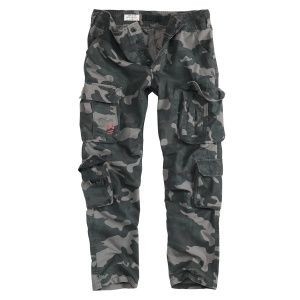 Брюки Surplus Airborne Slimmy Trousers Beige BLACK CAMO