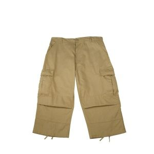 Капри Rothco 6-Pocket BDU 3/4 Pants Khaki