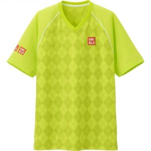 Футболка Uniqlo Men NK Dry EX YELLOW