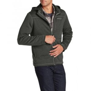 Кофта Eddie Bauer Mens Radiator Full-Zip Hoodie HTR CHARCOAL
