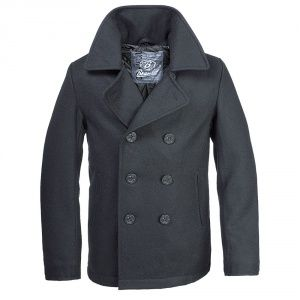 Бушлат Brandit Pea Coat BLACK