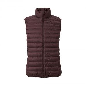 Жилетка Uniqlo men ultra light down vest Wine