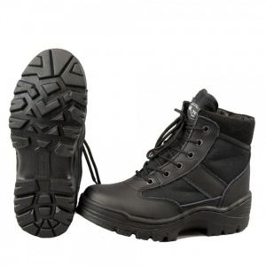 Ботинки MIL-TEC SECURITY HALBSTIEFEL Black