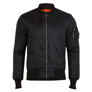 Куртка Surplus Basic Bomber Jacket BLACK