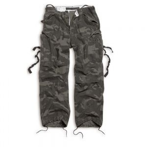 Брюки Surplus Vintage Fatigue Trousers Black Camo