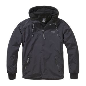 Куртка-анорак Brandit Luke Windbreaker BLACK