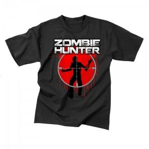 Футболка Rothco Zombie Hunter Black